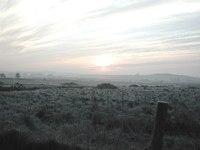 Frosty Morning Sunrise