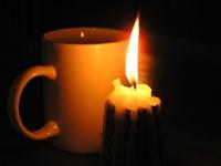 Warm cup of tea