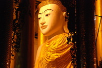 Shwe Da Gon Pagoda and Buddha Statue