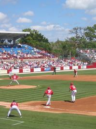 Spring Training Baseball
