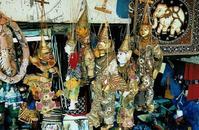 Wooden Thai Puppets
