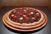 Pizza de chocolate 1