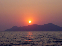 Sunset in Turkey