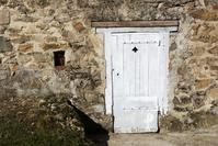 little white door