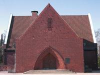 decorative chapel entrance