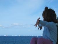 Wide wide ocean