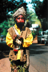 A boy from Goa, India