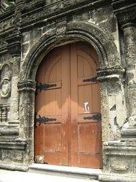 Malate Church Door