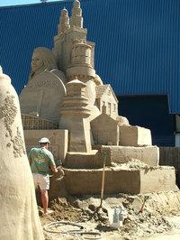 Sand Sculpture 5
