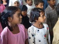School Children in India