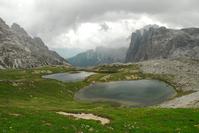 Tarns in Italian Alp