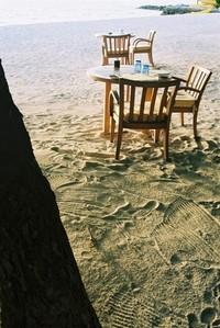 Lunch at tropical beach 1
