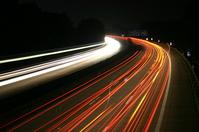 Glowing street