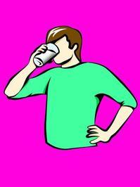 Drinking Milk 2
