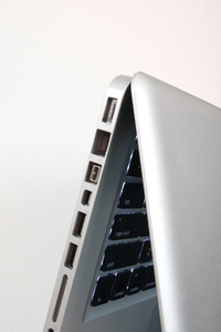 Silver laptop 1