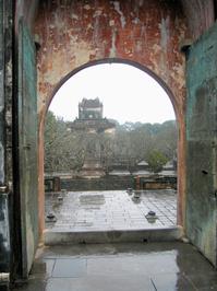 Doorway to the tombs