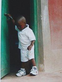 child from kenya