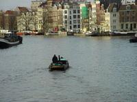 Boat on Amstel