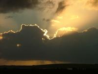 bursting through the cloud