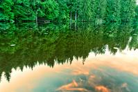 Sunset on Quiet Lake