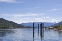 Kootenay Lake Pilings