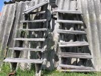 twin stairways