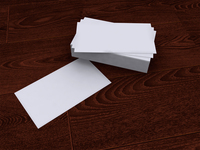 Free Business Card Mockup 5