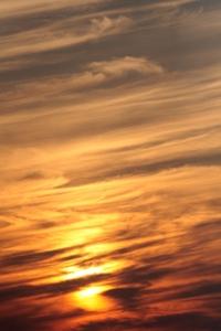 Wrinkled sunset 2