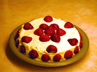 Strawberry cake 2