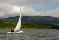 Sail Boat in el Sisga