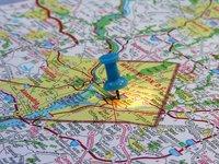 Washington DC on the map 2