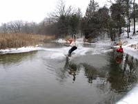 river boarding