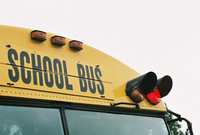 School bus red light