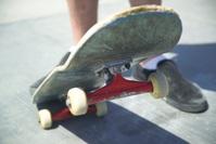 Skateboard Closeup 1