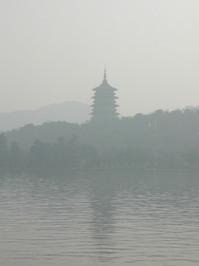 foggy pagoda