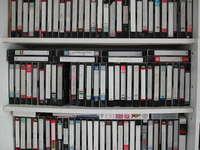 video casettes