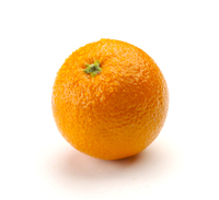 Orange isolated on white free photo