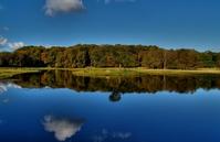 Autumn lake - HDR