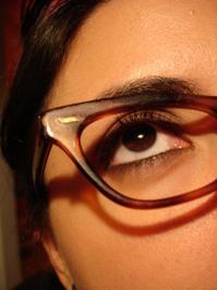 lente y ojo