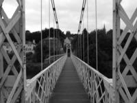 pedestrian suspension bridge 2
