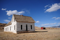 Old Desert Farmhouse