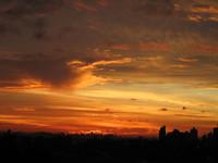 Sunrise at window 5