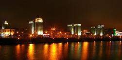 Minsk, Belarus, prospekt Pobediteley
