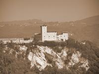 An artistic castle