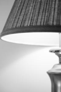 Lamp Black and White
