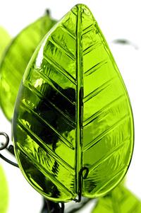 Glass Leaf 5