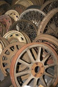 Wheels of wood