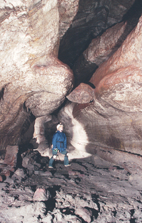 The Meatball in Ape Cave