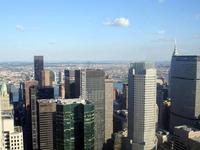 Manhattan skyline (retouched)
