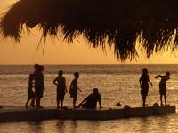sunset at Aruba